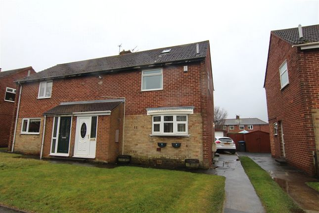 Thumbnail Semi-detached house for sale in Forster Avenue, Sherburn Village, Durham