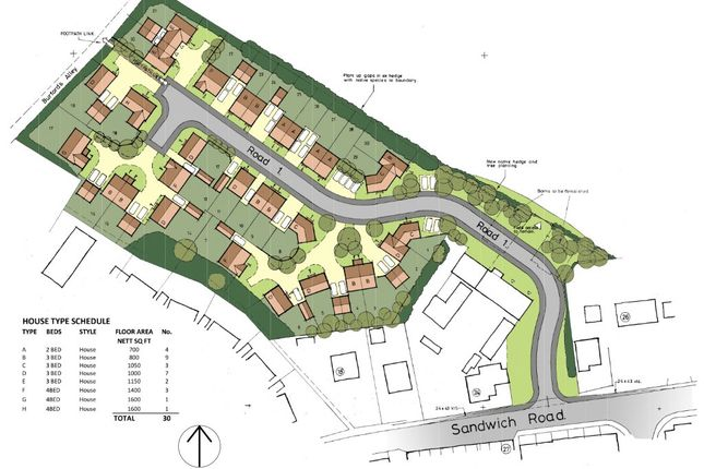 Thumbnail Land for sale in Ash, Canterbury