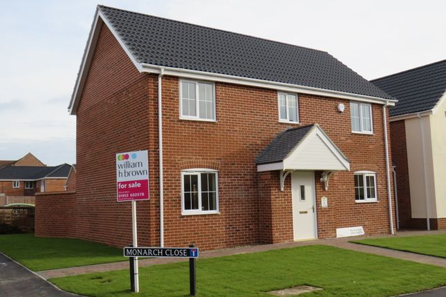 Thumbnail Detached house for sale in Blackthorn Road, Wymondham