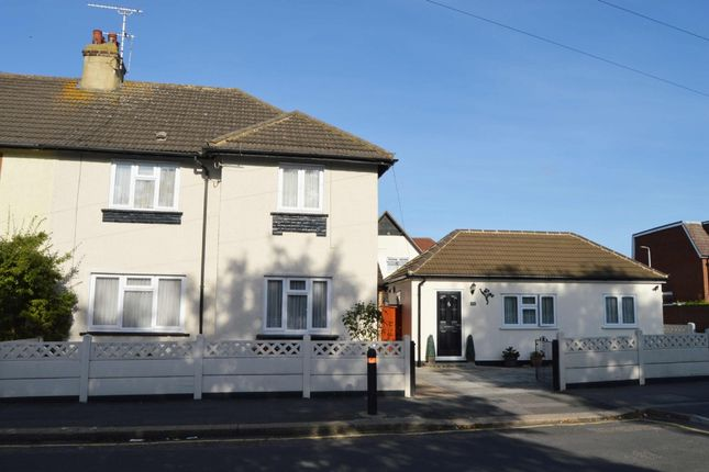 Thumbnail Semi-detached house for sale in Queens Park Road, Harold Wood, Romford