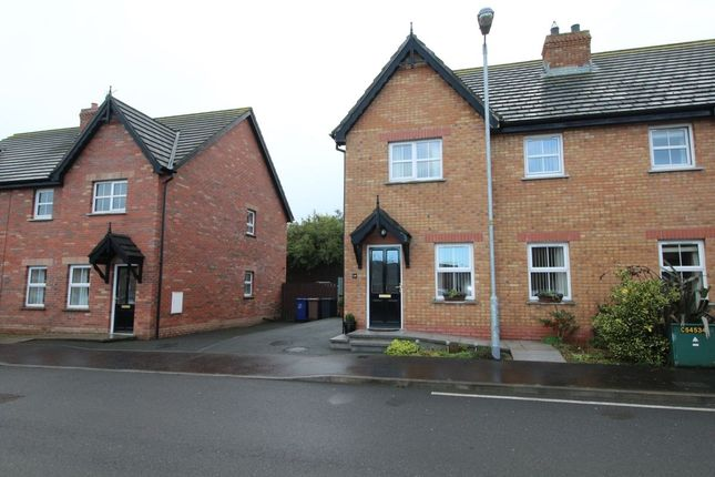 Thumbnail Semi-detached house to rent in Cornmill Way, Millisle, Newtownards