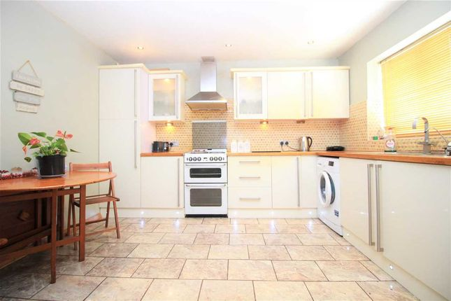 Thumbnail 3 bedroom semi-detached house to rent in Kingshill Avenue, Collier Row, Romford