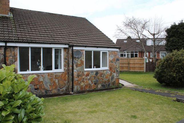 Thumbnail Semi-detached bungalow for sale in Hillside View, Milnrow, Rochdale, Oil16