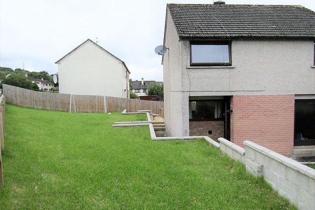 Thumbnail Semi-detached house for sale in Macrae Crescent, Dingwall