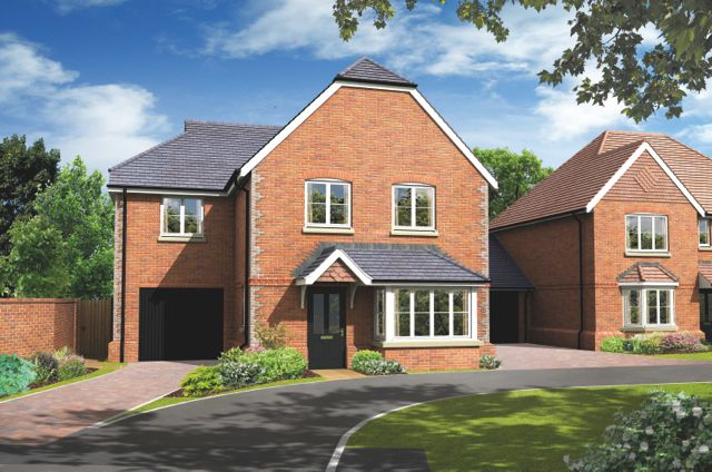 "Thumbnail Property for sale in ""The Fernhurst"" at Basingstoke Road, Spencers Wood, Reading"