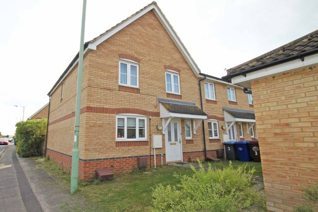 Thumbnail Terraced house to rent in Malt Close, Newmarket