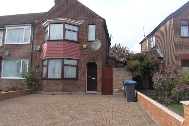 Thumbnail Semi-detached house for sale in Exeter Road, Ponders End, Enfield