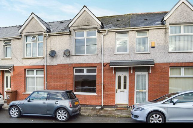 Thumbnail Terraced house for sale in St. Cattwgs Avenue, Gelligaer, Hengoed