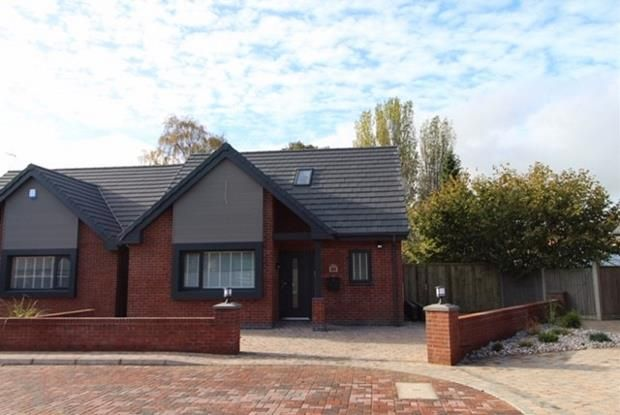 Thumbnail Detached bungalow for sale in The Warren, Off Old Mill Lane, Formby, Liverpool