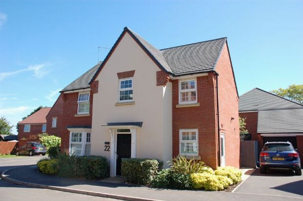 Thumbnail Detached house for sale in Rose Tree Close, Moulton, Northampton