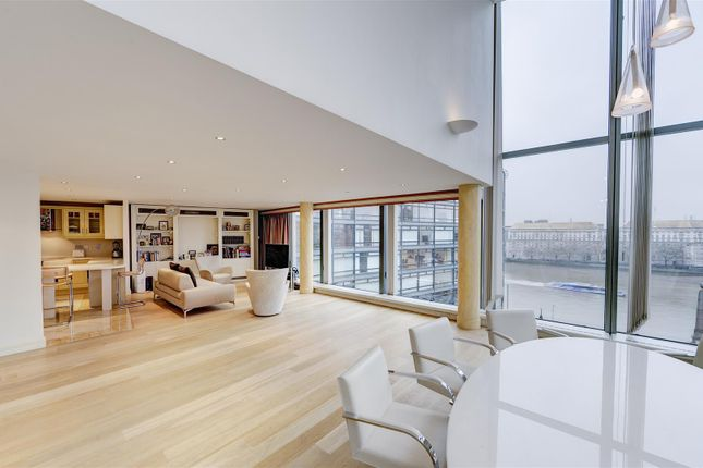 Thumbnail Flat to rent in Parliament View, 1 Albert Embankment, London
