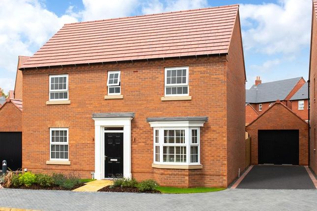 """4 bed detached house for sale in """"Bradgate"""" at """"Bradgate"""" At The Old Grammar School, School Road, Kibworth, Leicester LE8"""