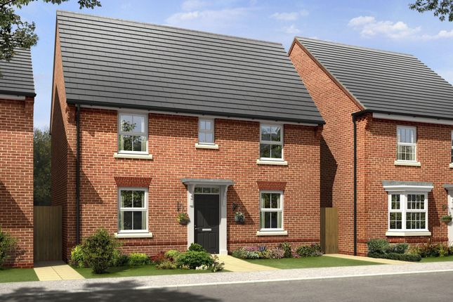 """Thumbnail Semi-detached house for sale in """"Hadley"""" at Laurels Road, Offenham, Evesham"""