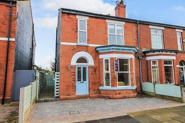 Thumbnail Semi-detached house to rent in Whitelake Avenue, Urmston, Manchester