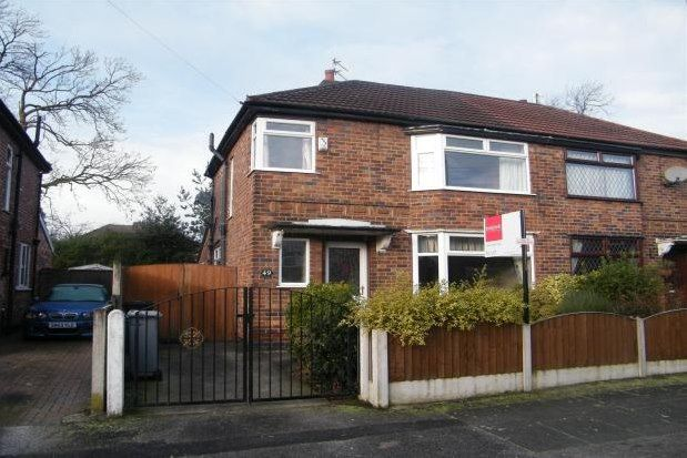 Thumbnail Semi-detached house to rent in Urmston, Manchester