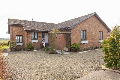 Thumbnail Detached bungalow for sale in Brora Lodge, Station Road, Wigtown