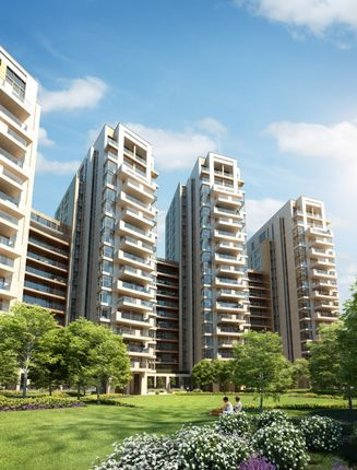 Flat for sale in North Wharf Road, London
