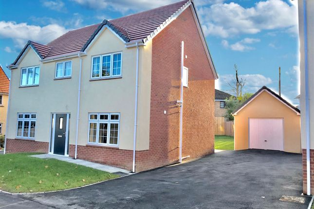 Thumbnail Detached house for sale in Philip Avenue, Pen-Y-Fai, Bridgend