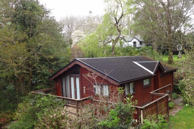 Thumbnail Mobile/park home for sale in Kingfisher Glade, Plas Dolguog, Machynlleth, Powys