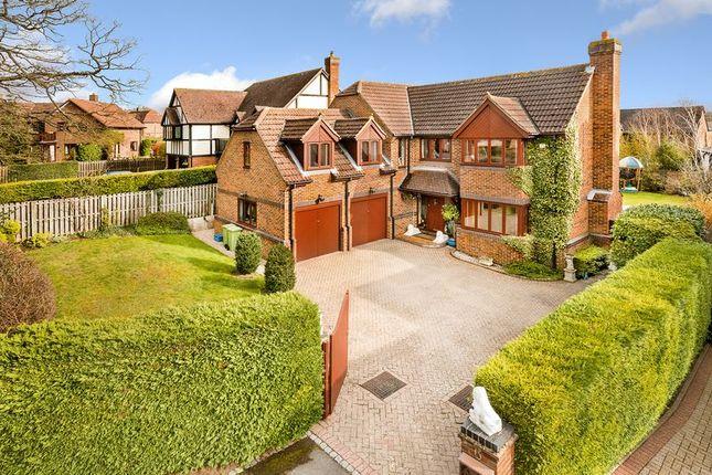 Thumbnail Detached house for sale in Beales Lane, Walton Park, Milton Keynes