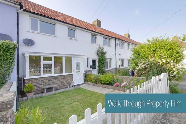 Thumbnail Terraced house for sale in Mill View Close, Westham, Pevensey