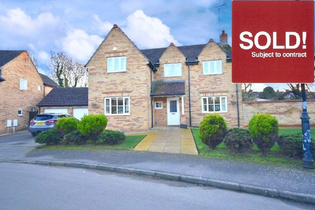 Thumbnail Detached house for sale in Dash Farm Close, Weldon, Corby
