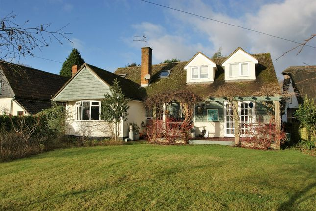 Thumbnail Detached house for sale in Green Road, Rickling Green, Saffron Walden
