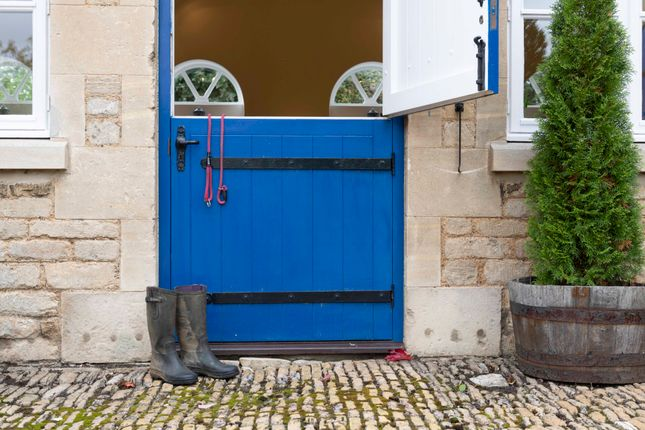 Stable Door Entrance