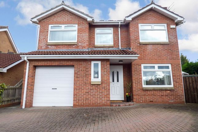 Thumbnail Detached house for sale in Dunstanburgh Close, Bedlington
