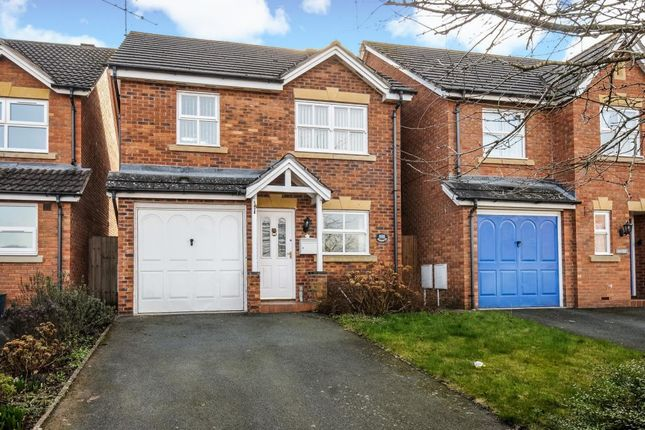 Thumbnail Detached house to rent in Godiva Road, Leominster