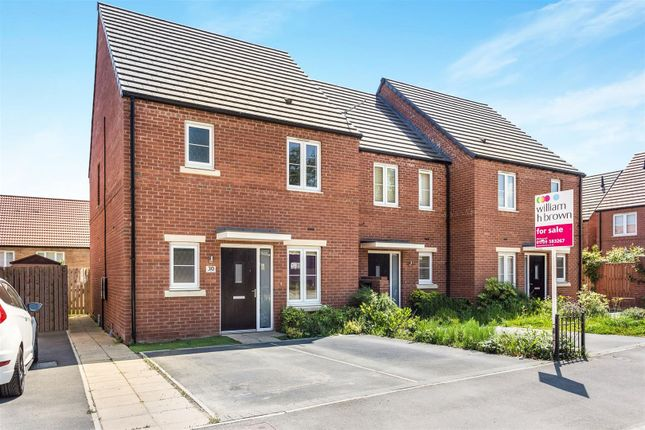 Thumbnail End terrace house for sale in Wild Geese Way, Mexborough