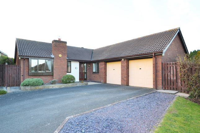 Thumbnail Detached bungalow for sale in Silvermere, Priorslee, Telford