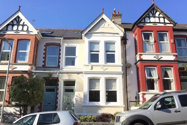 Thumbnail Terraced house for sale in Kingswood Park Avenue, Plymouth