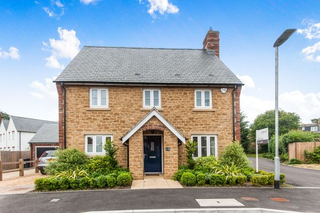 Thumbnail Detached house to rent in Granary Close, Chapel Field, South Perthton