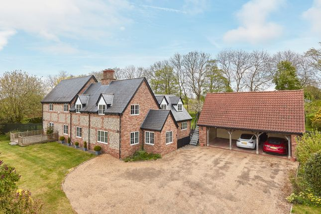 Thumbnail Detached house for sale in Brinkley Road, Dullingham, Newmarket