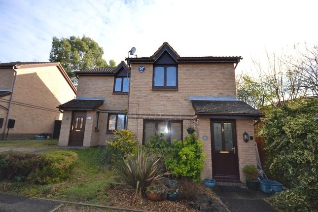 Thumbnail Semi-detached house for sale in Westwood Close, Great Holm, Milton Keynes