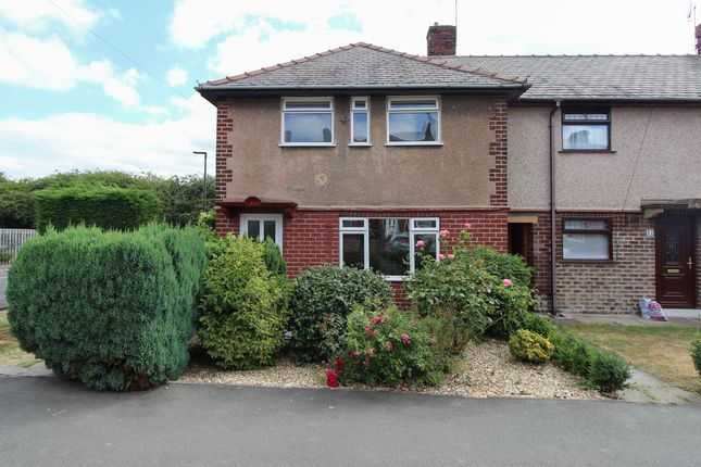 Thumbnail End terrace house for sale in Devonshire Avenue North, New Whittington, Chesterfield