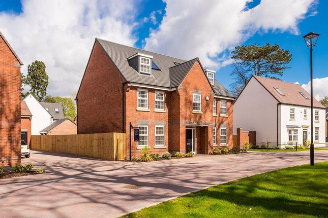Thumbnail Detached house for sale in Woodthorne, Wergs Road, Wolverhampton