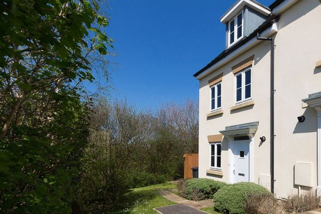 Thumbnail End terrace house for sale in Lower Trindle Close, Chudleigh, Newton Abbot