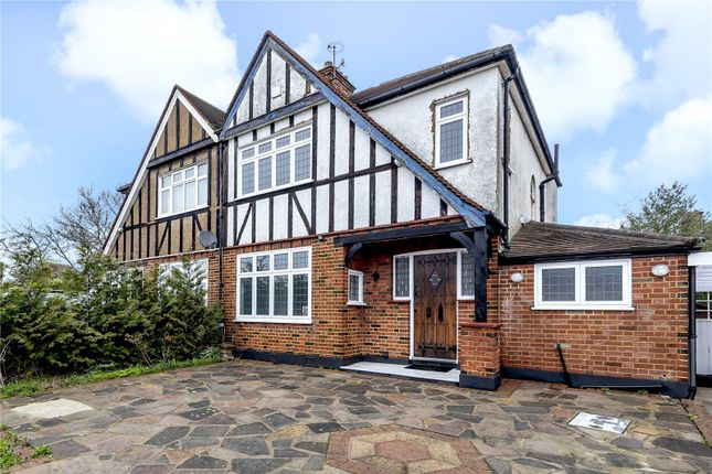 Semi-detached house for sale in The Ridgeway, North Harrow, Harrow, Middlesex