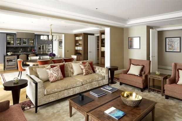 Thumbnail Flat to rent in Four Seasons Residences, 10 Trinity Square