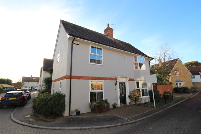 Thumbnail Detached house for sale in Oxley Parker Drive, Mile End, Colchester, Essex