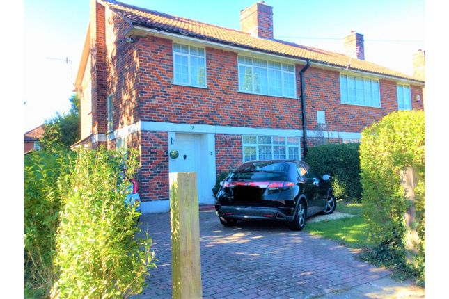 Thumbnail Semi-detached house for sale in Leaside Way, Southampton