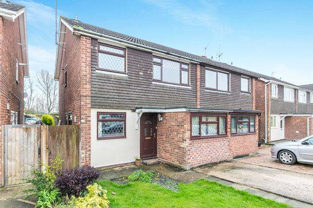 Thumbnail Semi-detached house for sale in Ashbury Drive, Marks Tey, Colchester