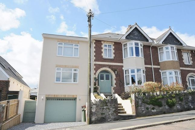 Thumbnail Semi-detached house for sale in Culme Road, Mannamead, Plymouth