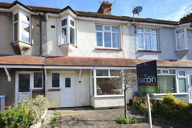 Thumbnail Terraced house for sale in Shandon Road, Broadwater, Worthing, West Sussex