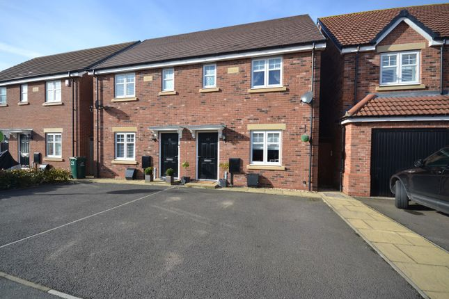 Thumbnail Semi-detached house for sale in Auburndale Avenue, Bannerbrook Park, Coventry