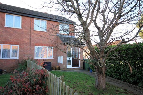 Thumbnail End terrace house to rent in Sunbury Close, Bordon
