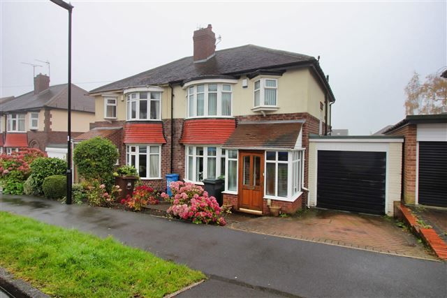 Front of Cardoness Road, Crosspool, Sheffield S10