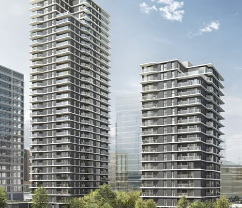 Thumbnail Flat for sale in Apartment 28.01, Glasshouse Gardens, Stratford, London